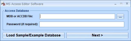 Windows 7 MS Access Editor Software 7.0 full