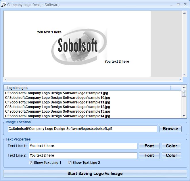 Company Logo Design Software screenshot