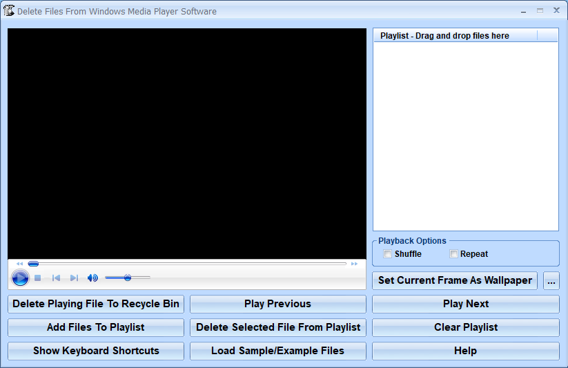 Delete Files From Windows Media Player Software