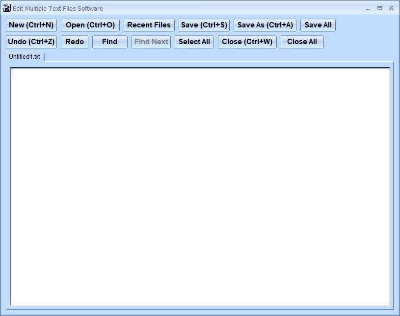 Windows 7 Edit Multiple Text Files Software 7.0 full
