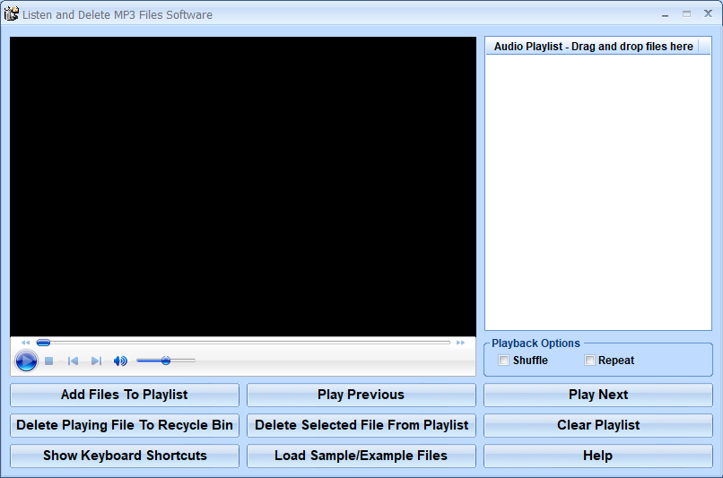 Windows 8 Listen and Delete MP3 Files Software full