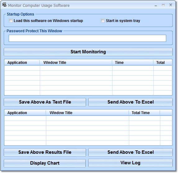 Monitor Computer Usage Software 7.0