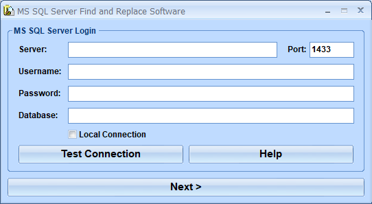 MS SQL Server Find and Replace Software 7.0 full