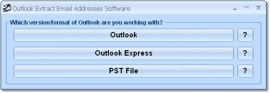 Outlook Extract Email Addresses Software 7.0