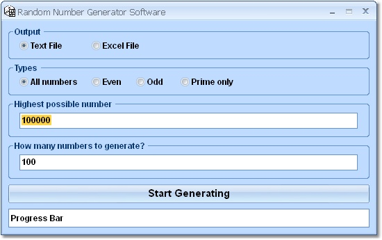 Random Number Generator Software