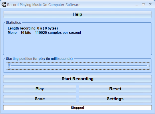 Windows 7 Record Playing Music On Computer Software 7.0 full