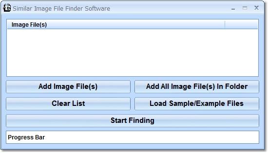Similar Image File Finder Software screen shot