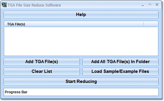 Compress the file size of one or more TGAs