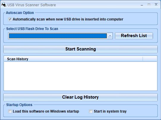 Windows 7 USB Virus Scanner Software 7.0 full