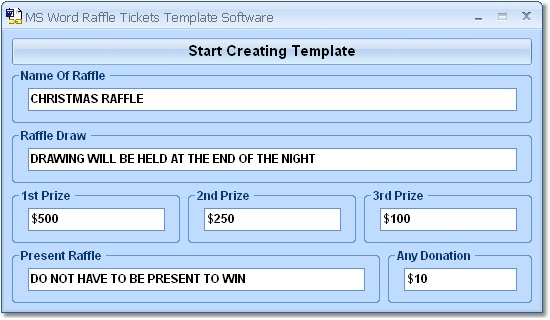 raffle ticket template free download